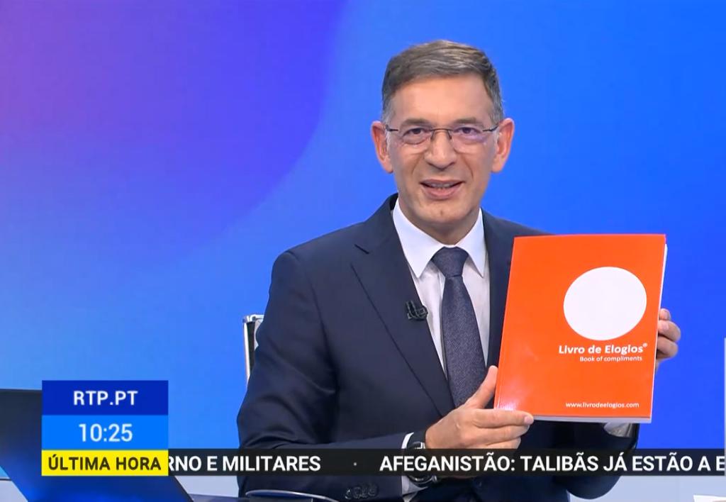 O Livro de Elogios no Bom Dia Portugal na RTP1